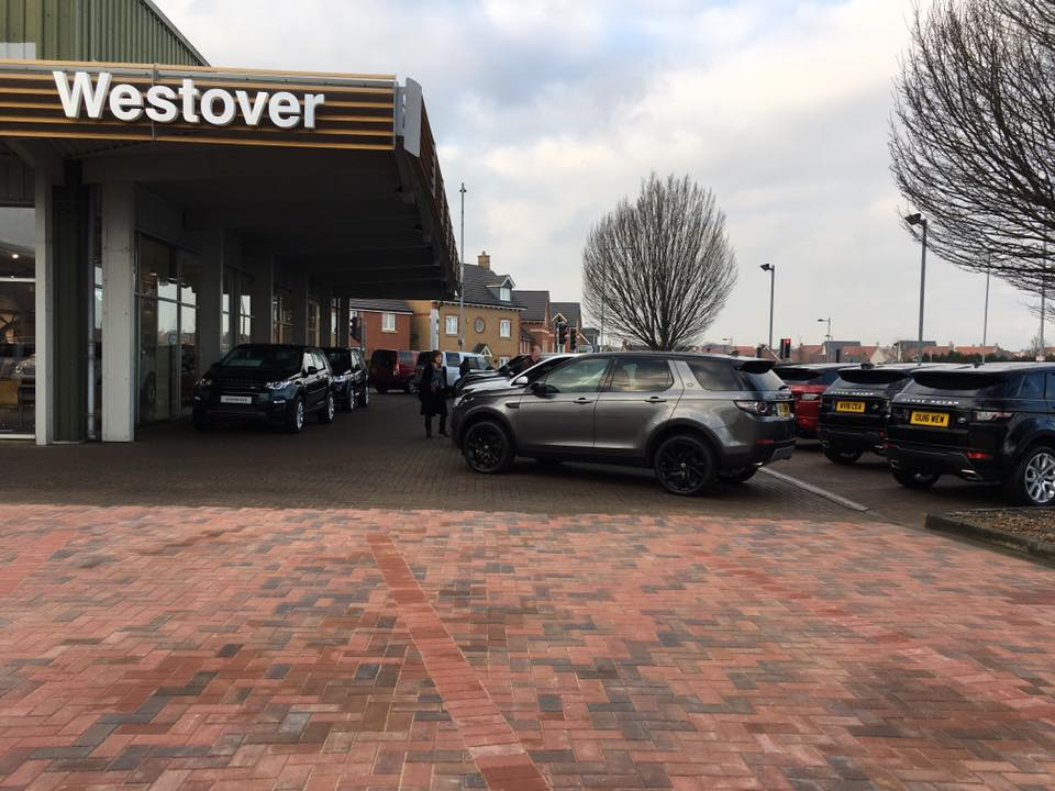 CW Stanley commercial forecourt
